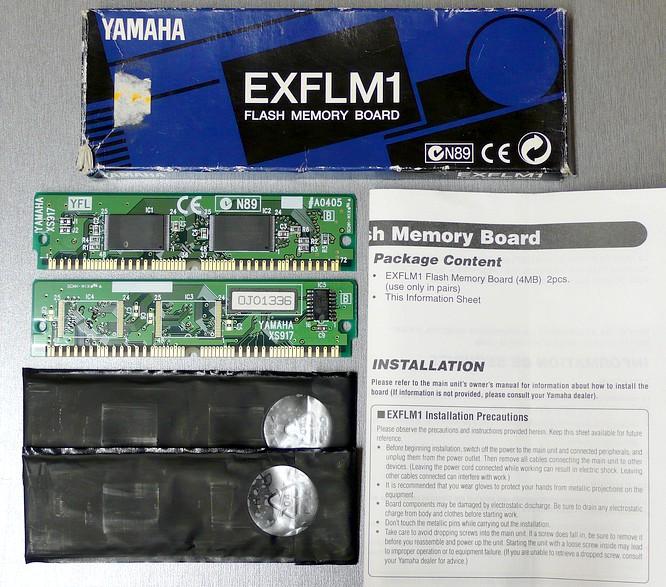 Yamaha EXFLM1 8MB (2x4MB) by deep!sonic Oktober 2008