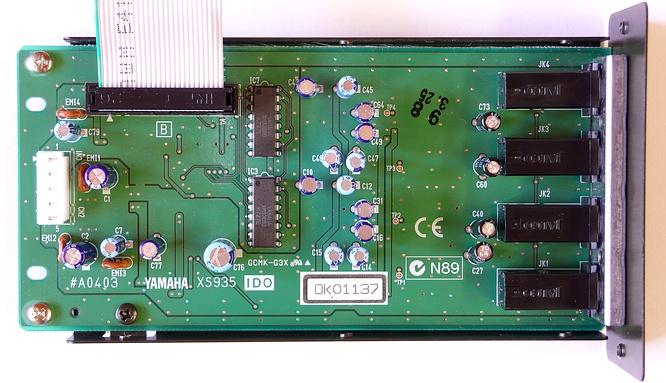 Yamaha EXIDO1 Individual Output by deep!sonic 02.04.2009