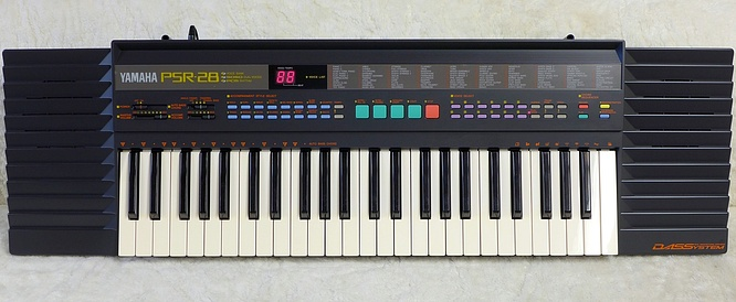 Yamaha PSR-28 DASS Keyboard PSR28 Digital Architectural Synthesis System by deep!sonic 17.08.2018