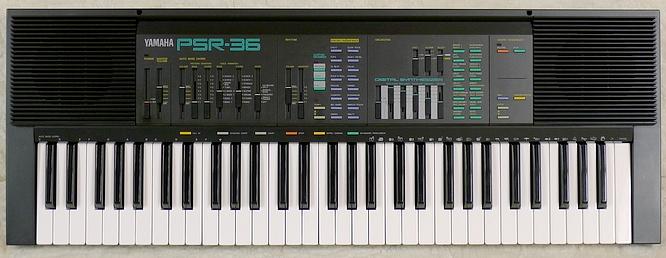 Yamaha PSR-36 by deep!sonic 10.01.2011