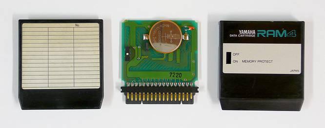 Yamaha RAM4 Cartridge by deepsonic 19.12.2009