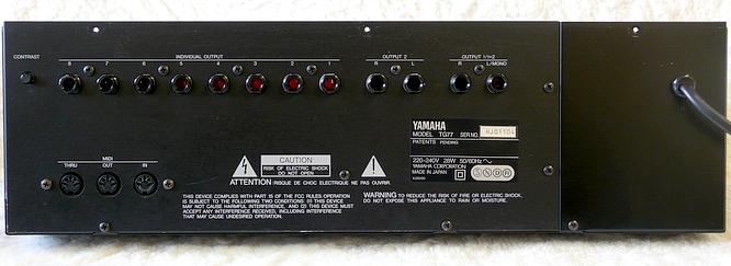 Yamaha TG77 by www.deepsonic.ch 10.04.2010