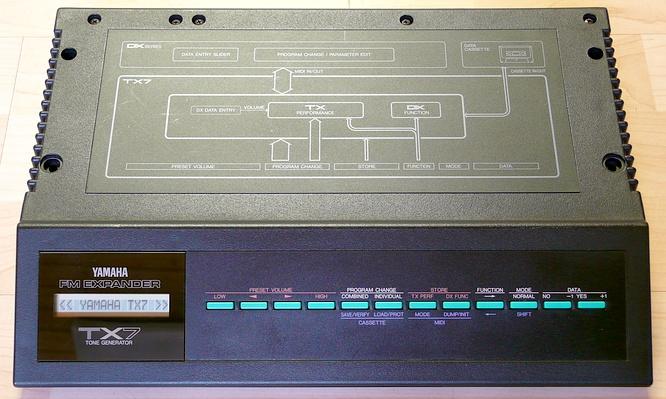 Yamaha TX7 TX-7 by deep!sonic 18.03.2009