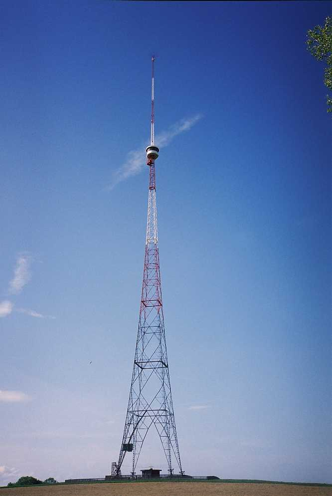 Grosse Antenne in Berom�nster