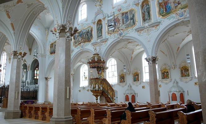 Kirche zu Kloster Mariastein