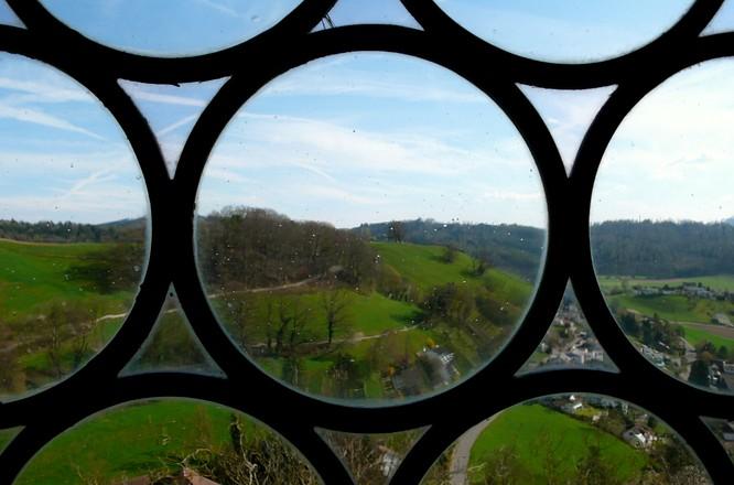 Fenster in Schloss Lenzburg