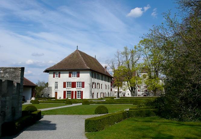 Parkanlage Schloss Lenzburg