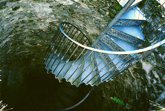 Wendeltreppe eines Turmes N�he Usingen (D)