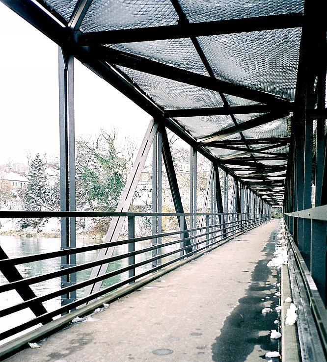 Bahnbr�cke in Olten