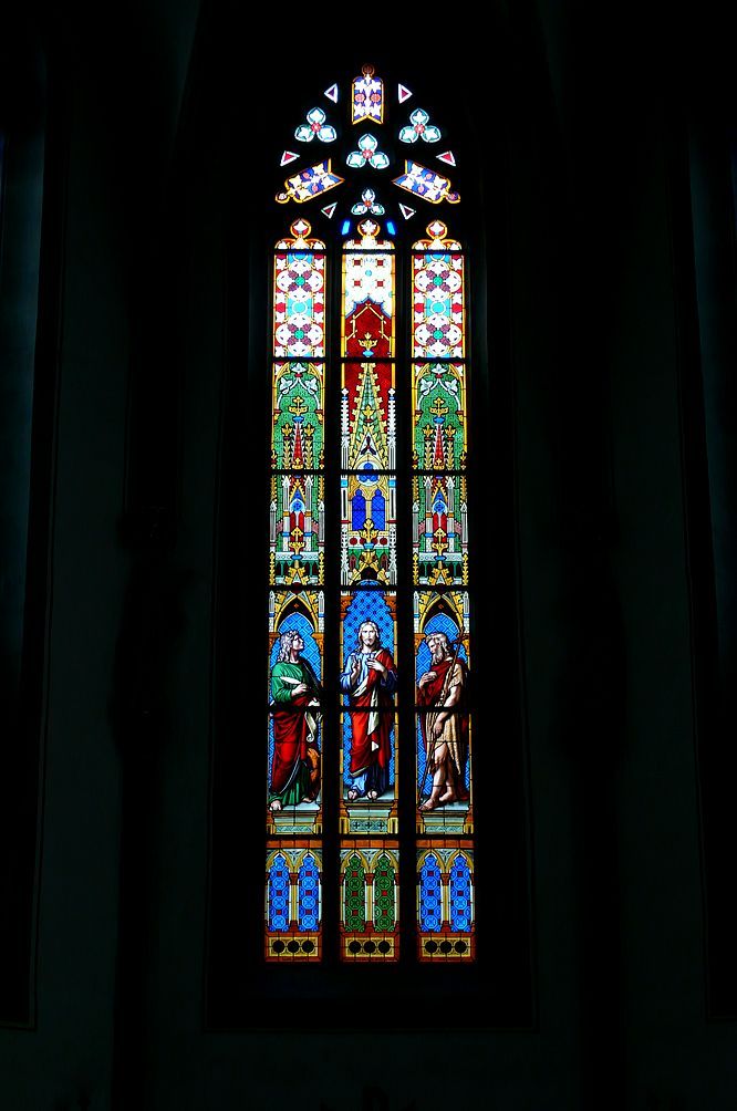Kirchenfenster St. Johann Schaffhausen