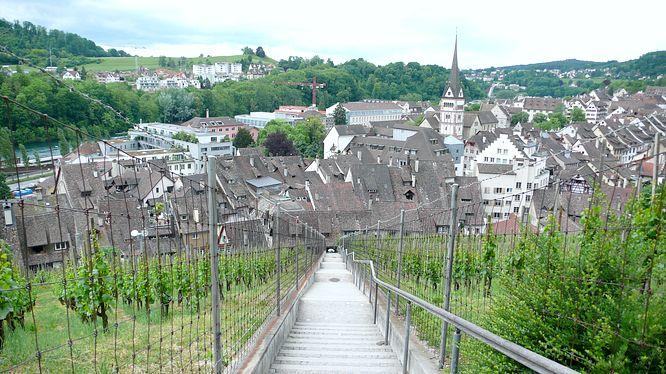 Aussicht vom Munot auf Schaffhausen