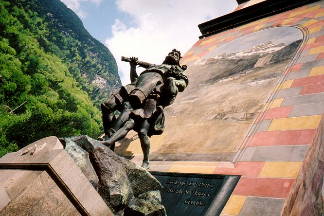 Denkmal Tell in Altdorf