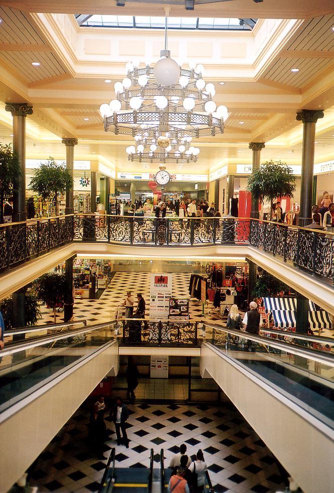 Einkaufszentrum in Olten