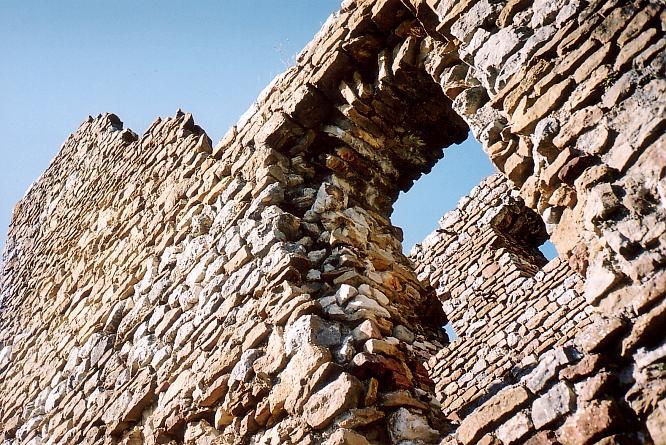 Ruine Alt Bechburg in Holderbank