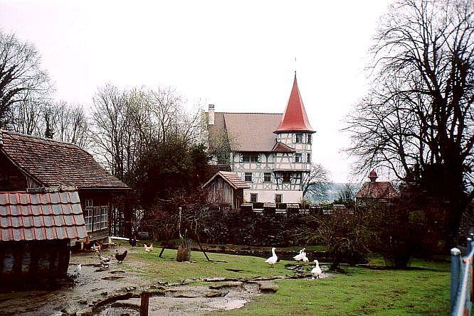 Schloss in B�hl