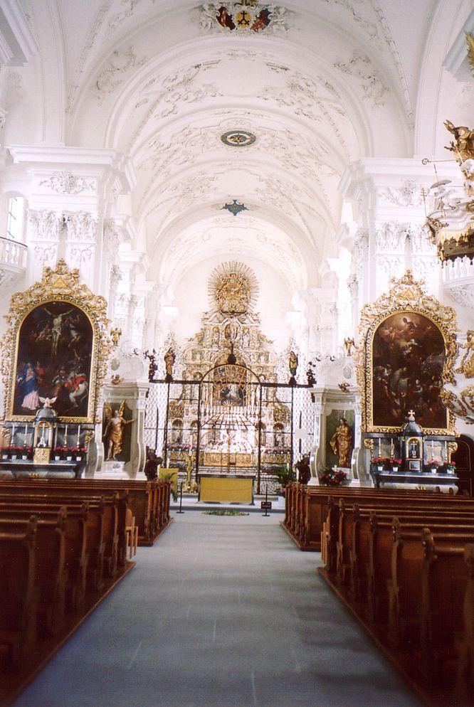 Kirche in Kloster St.Urban