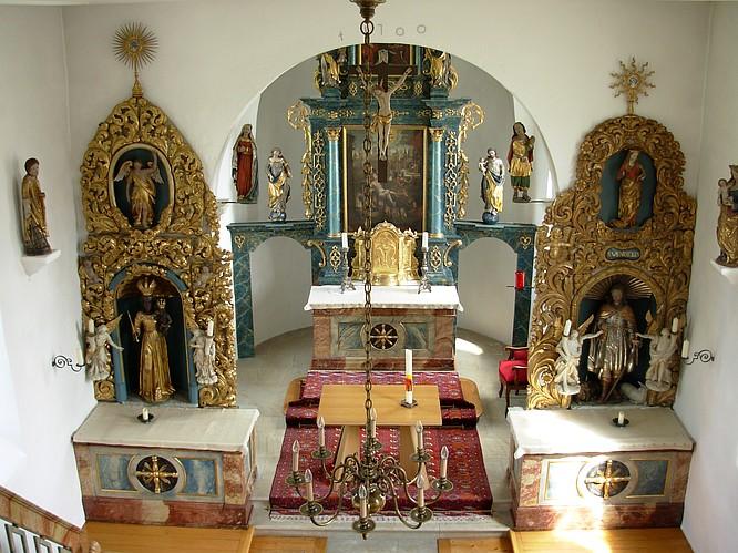 St.Laurenzius Kappelle in Rickenbach