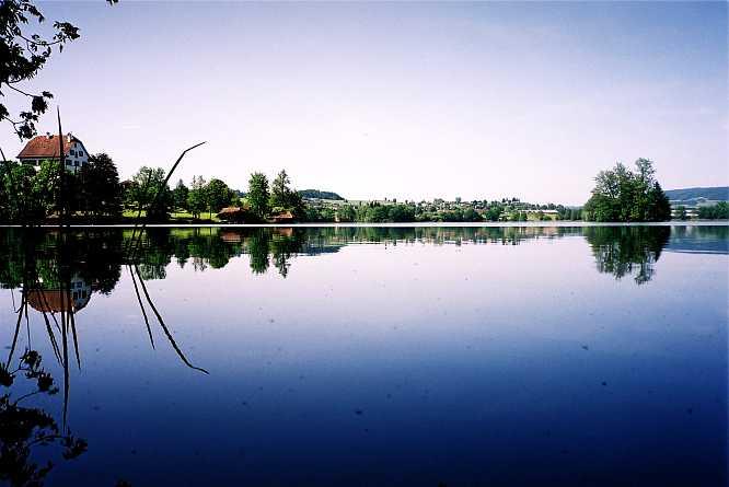 Mauensee, Blick gegen Nordwesten