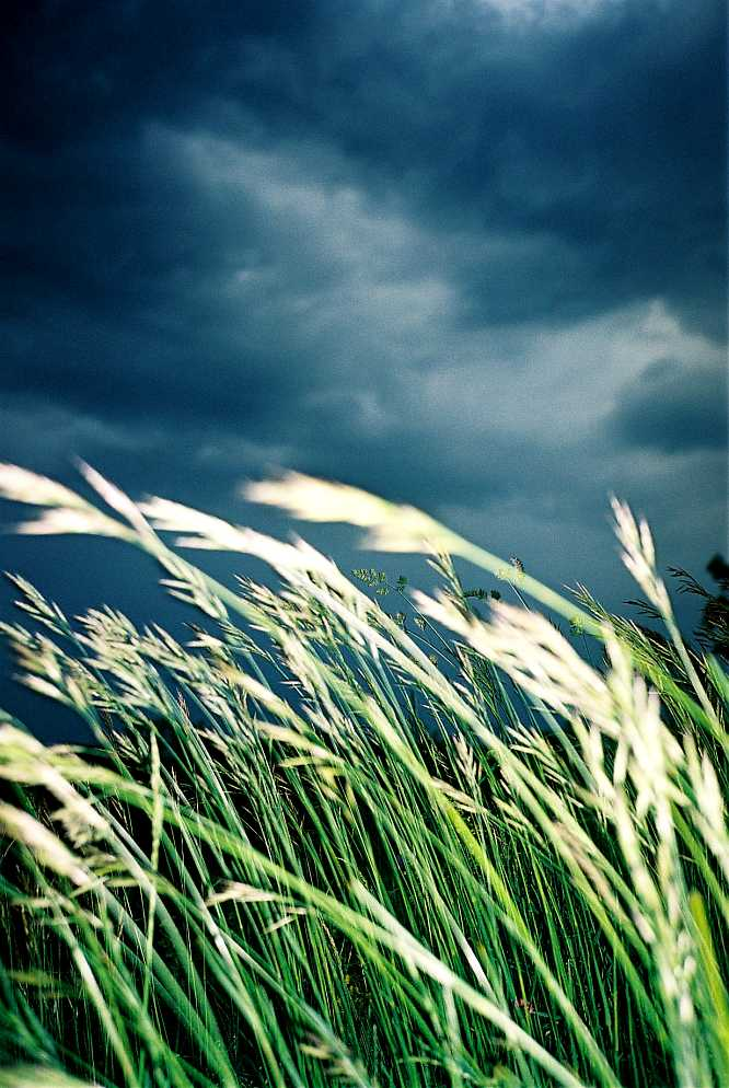 Aufkommendes Unwetter auf dem Allerheiligen