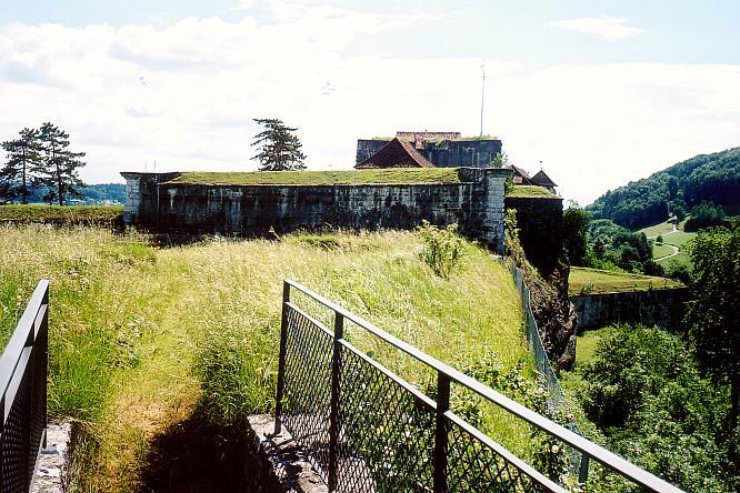 Aussichtspunkt auf der Festung in Aarburg