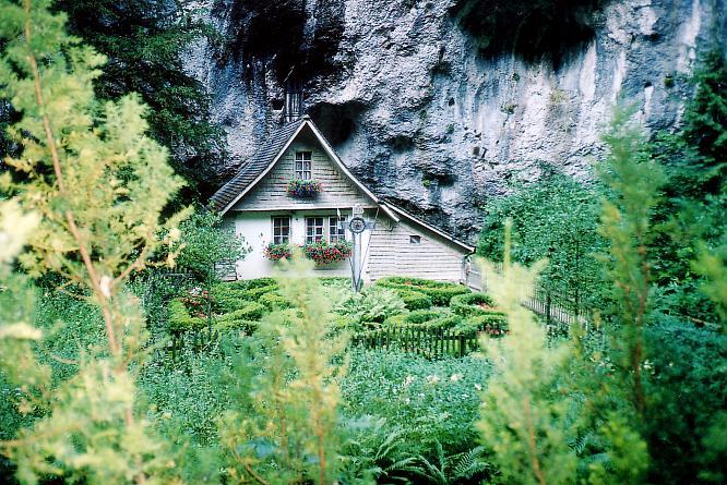 Einsiedlerhaus in der Verenaschluch bei Solothurn