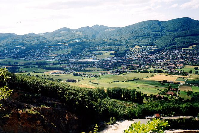 Born oberhalb Steinbruch, Sicht NW