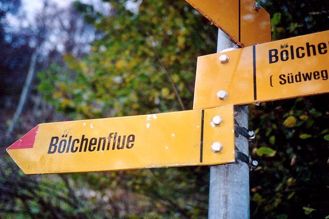 Belchenflue (SO) versus B�lchenflue (BL)