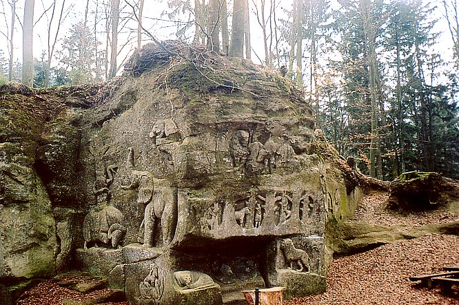 Sandskulpturen bei Safenwil