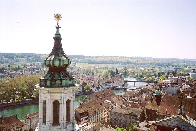 Solothurn, Blick SW