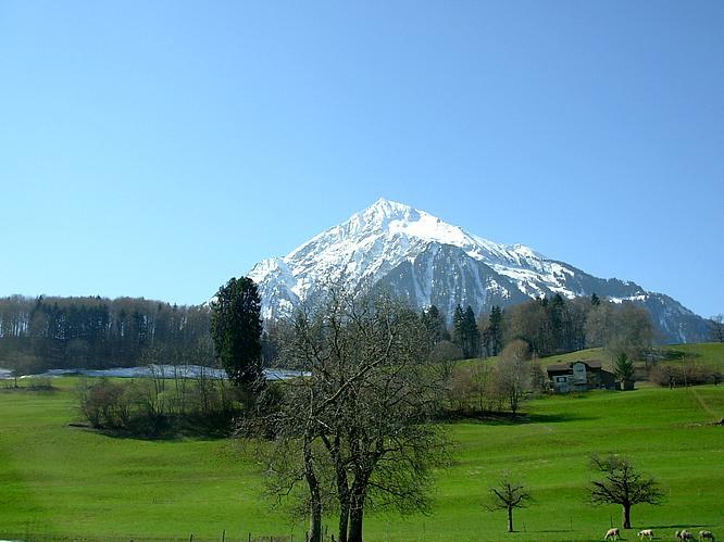 Berg in N�he Interlaken