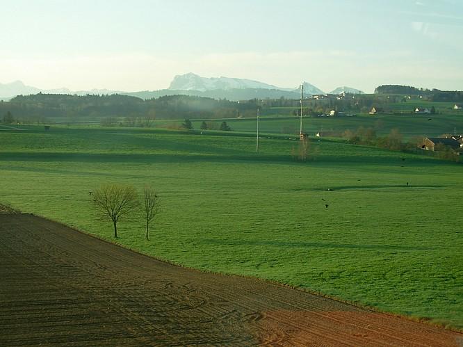 Landschaft Kanton Fribourg