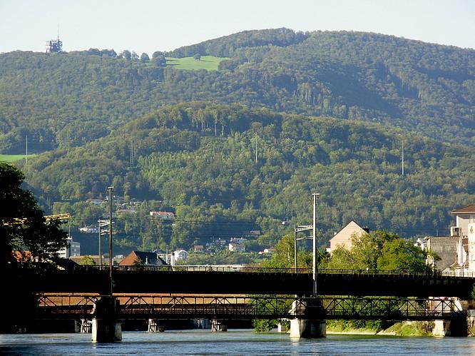 Olten, Sicht N nach Trimbach,Froburg Antennenstation