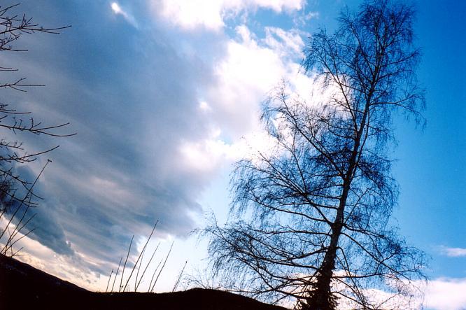 Wolkenbildung in Aarburg
