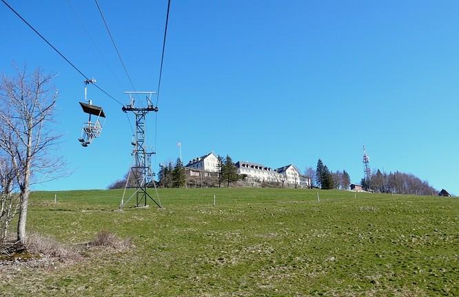 Sesselbahn zum Weissenstein