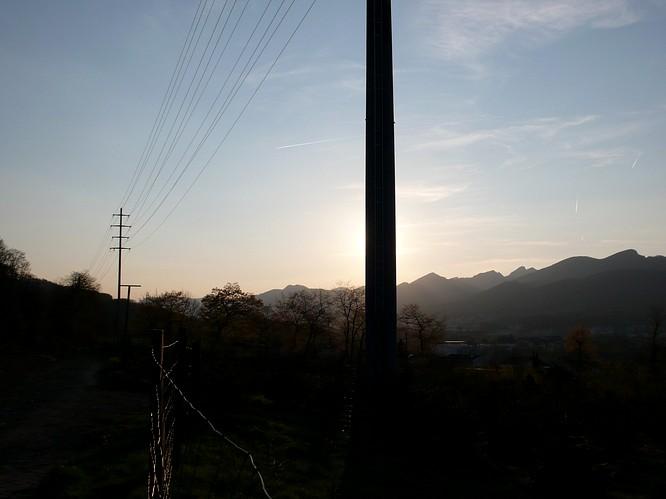 Abendsonne in Olten-M�hletal