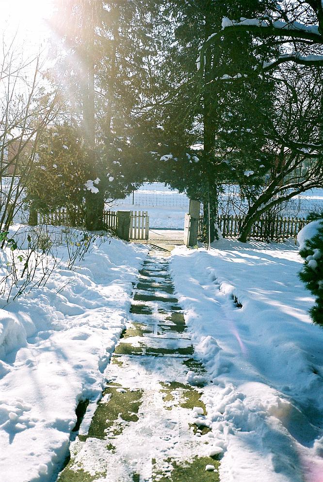 Winterstimmung in Wangen bei Olten, Blick gegen S�den