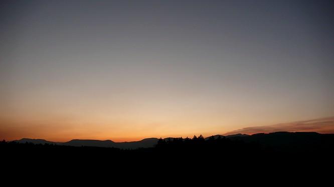 Sonnenuntergang von Strengelbach (normal)