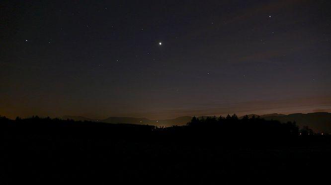 Nachtstimmung von Strengelbach (Wissberg)
