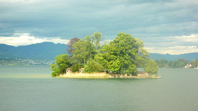 Insel im Z�richsee