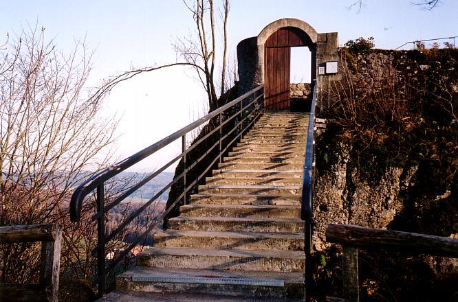 Treppe zum S�lischl�sschen in Olten