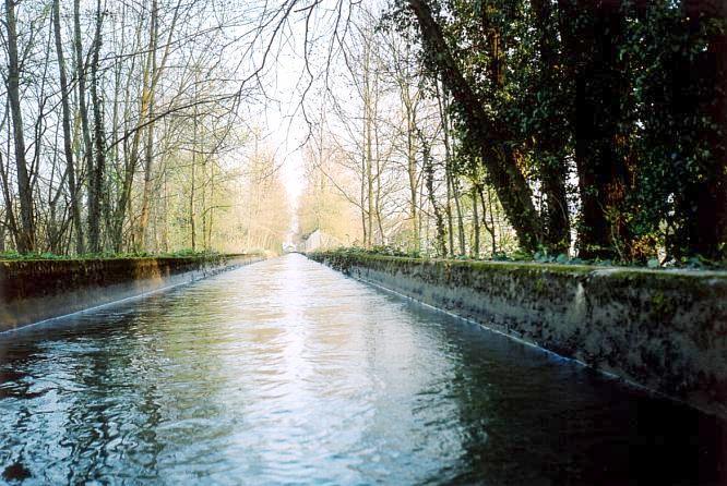 Kanal in Aarburg