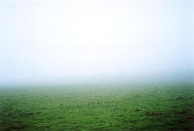 Nebel in Berom�nster, Blick gegen N