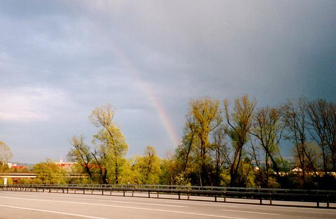 Regenbogen in Rothrist