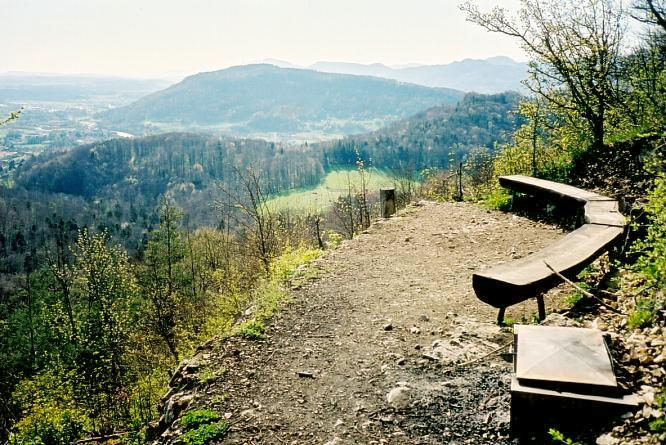 Bei Engelberg in Dulliken, Sicht gegen SW