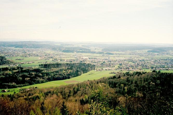 Bei Engelberg in Dulliken, Sicht gegen S