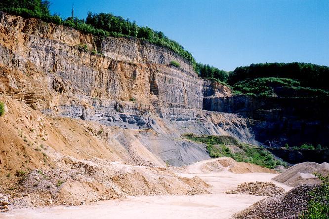 Steinbruch Wangen bei Olten