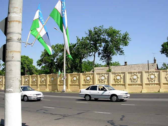 Flaggs of Tashkent