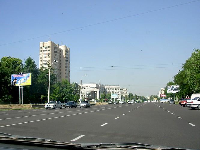 Road in Tashkent