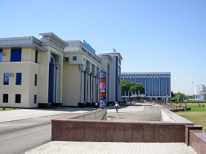 Trainstation in Taskent