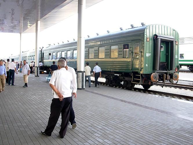 Train to Samarkand, Buchara ...